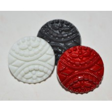 15 mm  Very stylish button   (3 colours )